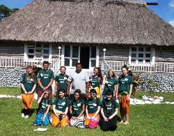 Volunteer group Fiji