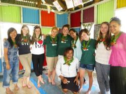 Volunteers in Fiji