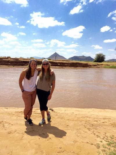 Care volunteers exploring Kenya