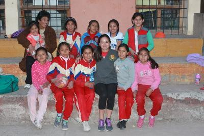 Students in Peru