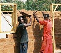 The ghanaian builders