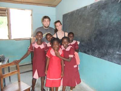 Volunteer trip Ghana