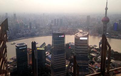 Beautiful city of Shanghai