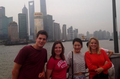 Sightseeing with other volunteers