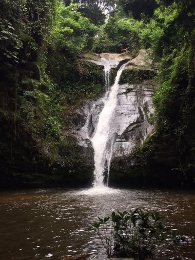 A waterfall in Togo