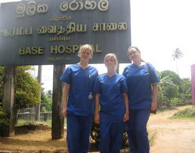 Volunteer nursing elective Sri Lanka