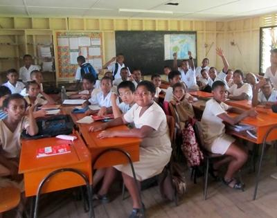 Teaching project in Fiji