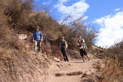 On a trek