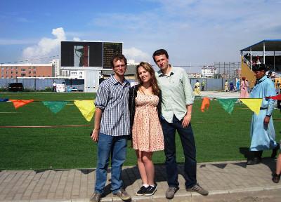 Before the Naadam festival