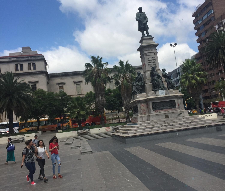 Volunteers tour Cordoba in their free time