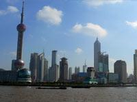 View of central Shanghai