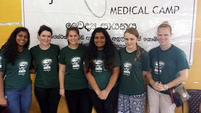 Volunteering at a medical outreach in Sri Lanka
