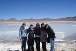 Visiting the salt lakes