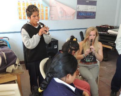 Volunteer Music project