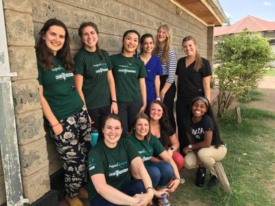Care volunteers in Kenya