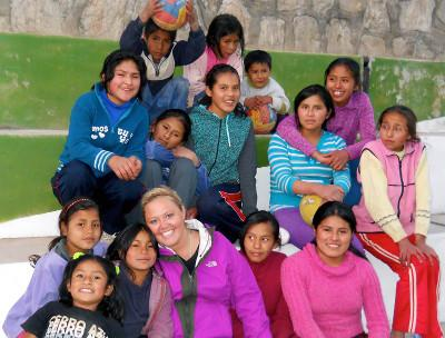 Voluntary Sports placement in Peru