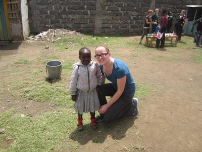 Working in Kenya