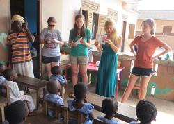 Voluntary care project Ghana