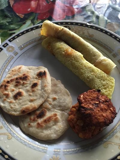 Local food in Sri Lanka