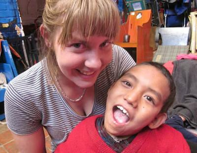 Volunteering physio Nepal