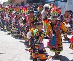 At a Peruvian festival