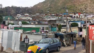 Imizamo Yethu settlement in Hout Bay