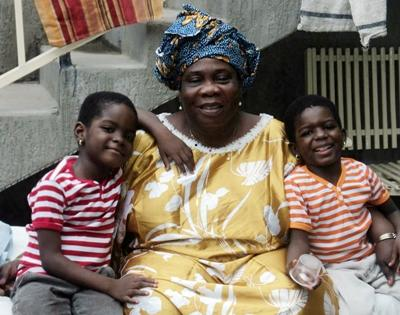 Family in Togo