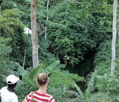 Waterfall at Kpalime