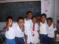 Children from one of our classes