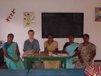 With the teachers