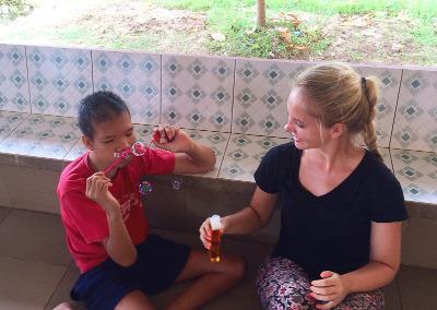Care project in Cambodia
