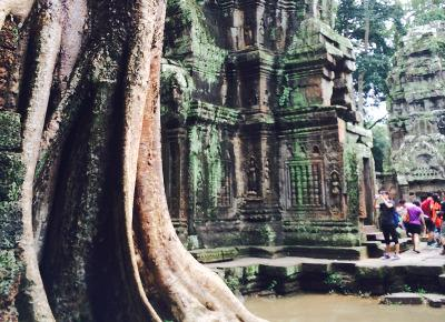 Sight seeing in Cambodia