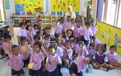 Volunteer school class