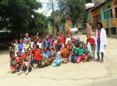 School Sports in Ethiopia