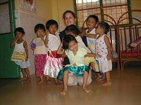 Me with some of the kids