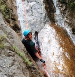 Canyoning trip
