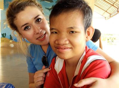 >Voluntary Care project in Cambodia