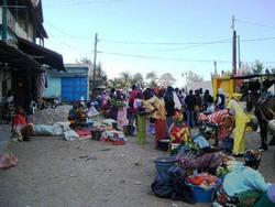 A market in St Louis