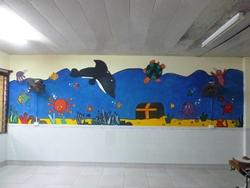 Mural we painted