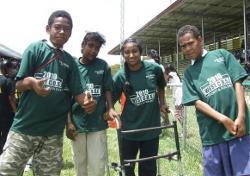 Children at sports day