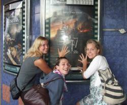 Volunteer trip to cinema