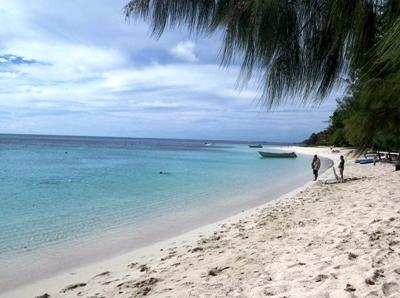 Beautiful Fijian beach