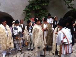 Romanian dancing