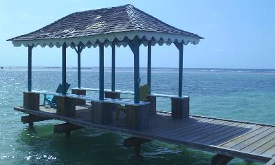 The beach in Jamaica