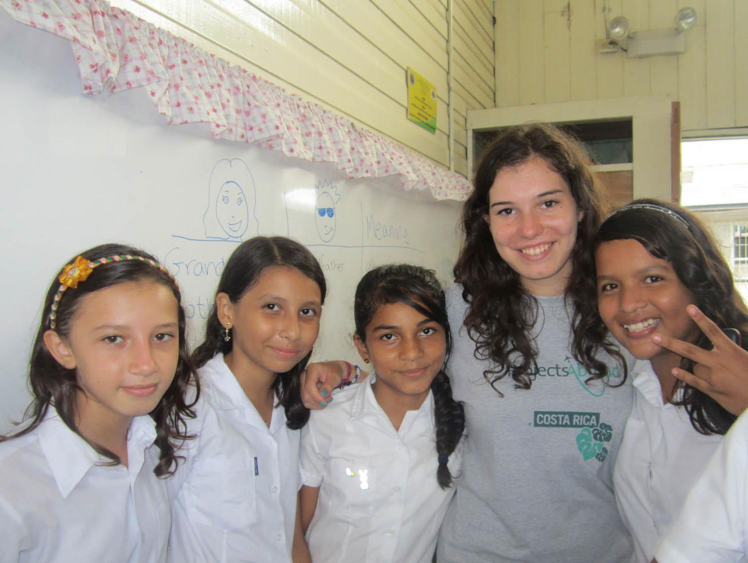 Volunteer Teaching placement in Costa Rica