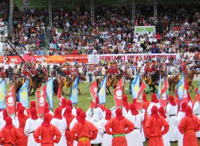 Festival in Mongolia
