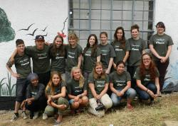 Projects Abroad volunteer group
