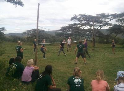 Volunteer games