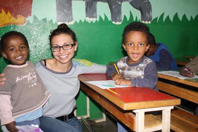 Volunteering in Ethiopia