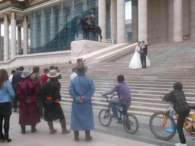 Mongolian wedding